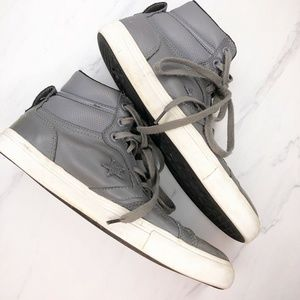 CONVERSE CONS Leather High Top Shoes Sneakers 12